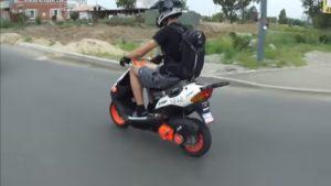 Як вибрати скутер 50 кубів
