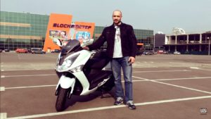 Мощный мотоцикл Yamaha