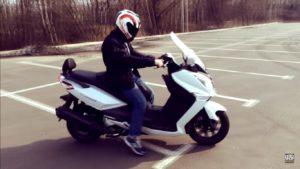 Права на скутер 150 кубів