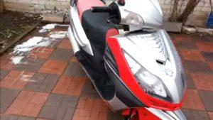 Заводим скутер зимой