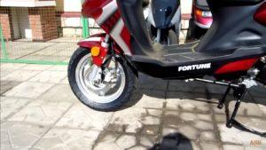 Сколько масла в вилке скутера