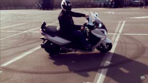 Права на скутер 150 кубов