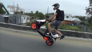 Як їздити на скутері